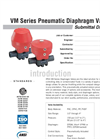 VM Pneumatic Valves SUBMITTAL Data Sheet